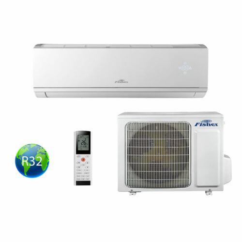 Fisher klíma Comfort Plus FSAI-CP-90BE3 / FSOAI-CP-90BE3 oldalfali split klíma 2.7kW