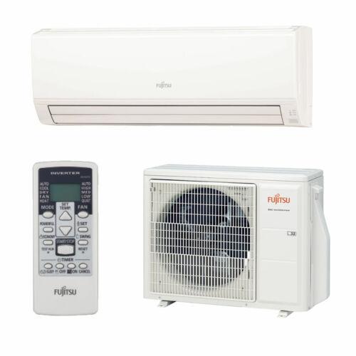 Fujitsu ECO oldalfali inverteres split klíma 7,1 kW - nagy helyiségekbe