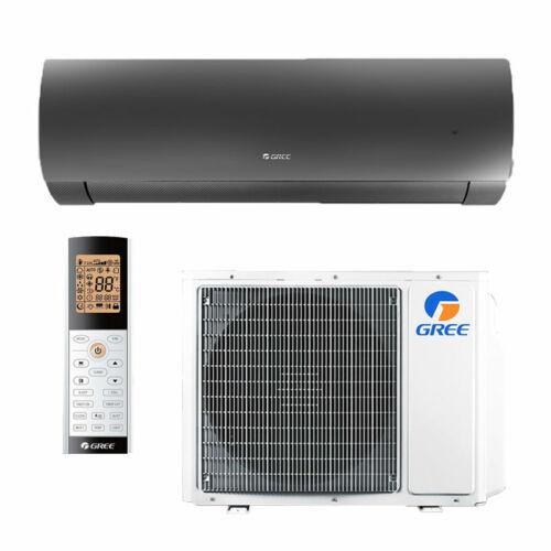 Gree Dark X inverteres -oldalfali split 2,6 kW klíma WiFivel