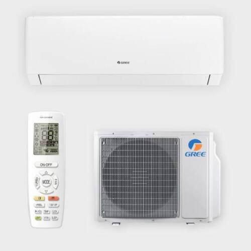 Gree Pulse inverteres - oldalfali split klíma (4,6 kW - Wifivel)