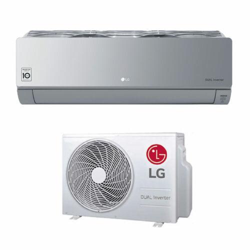 "LG ""Artcool Silver"" oldalfali inverteres split klíma 2,6 kW - WiFi vezérléssel"