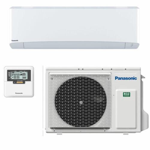 PANASONIC TKEA CS-Z25TKEA/CU-Z25TKEA oldalfali split professzionális szerver klíma 2,5kW WIFIvel