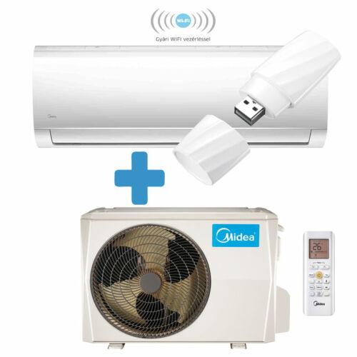 Midea Blanc oldalfali mono split klíma 3,5 kW - MA1X-12-SP-WIFIvel, (R32)
