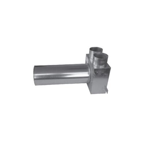 Cairox Flex 2 Csonkos szelepfogadó doboz - 2x75/125 mm - L:320 mm
