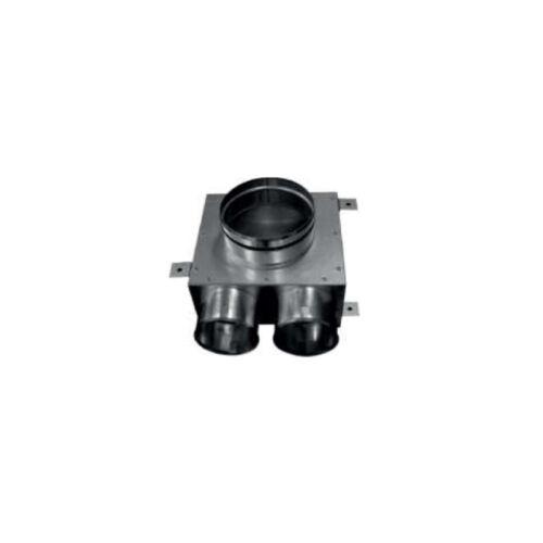 Cairox Flex 2 Csonkos szelepfogadó doboz - 2x75/125 mm