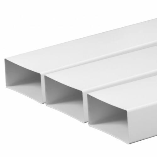 Awenta KP55-10 lapos PVC cső, légcsatorna 55X110mm/1 m