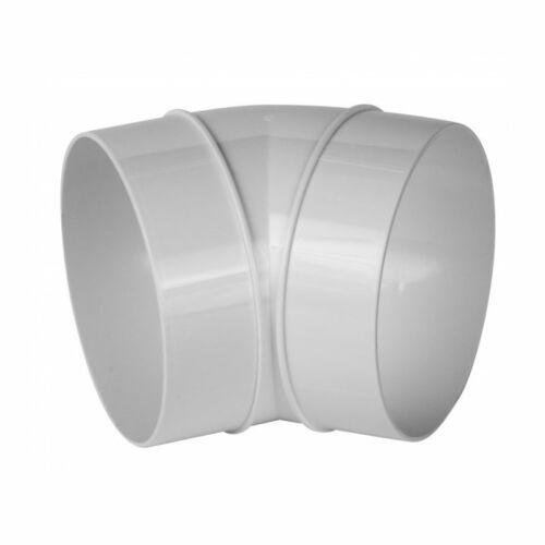 Awenta KO125-23/45 PVC 45° könyök