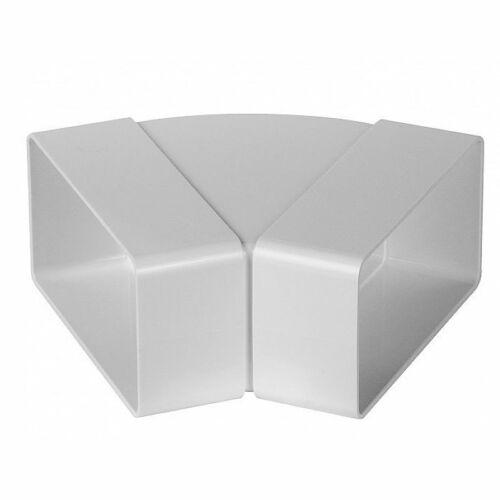 Awenta KP55-24/45 PVC vízszintes könyök 45°-55x110 mm lapos csatornához