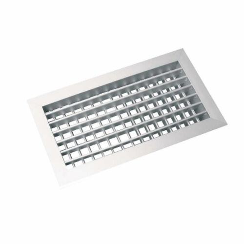 ATC AHVN-W Kétsoros aluminium falirács fehér több méretben