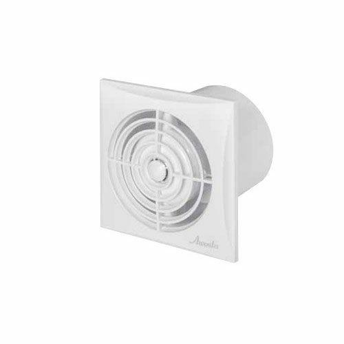 Awenta Silence axiális, időzítős fürdőszoba ventilátor WZ100T - fehér