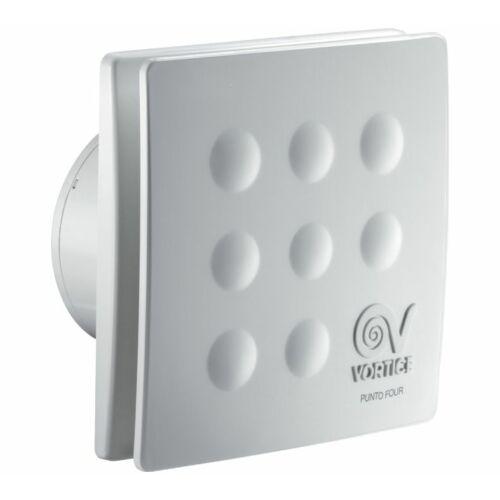 """Vortice Punto MFO90T 3,5"""" időkapcsolós axiális fürdőszoba ventilátor"""