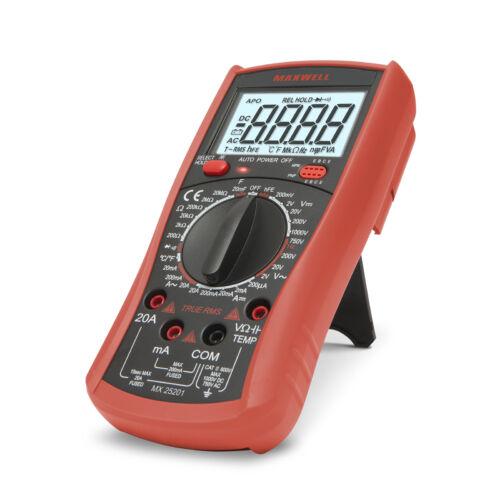 MAXWELL 25201 Digitális multiméter hőmérséklet méréssel