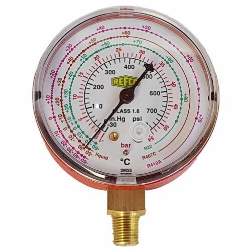 REFCO Nyomásmérő óra M2-500-DS-CLIM - manométer