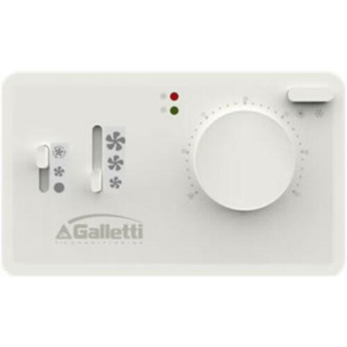 GALLETTI TED 4T Termosztát - fan coil vezérlő egység