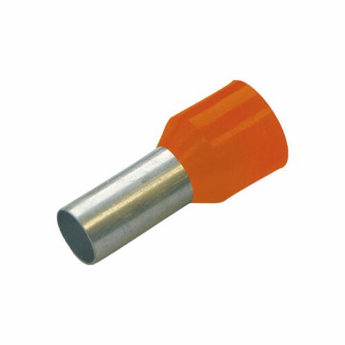 HAUPA Szigetelt érvéghüvely 0,5mm x 8mm 100 db