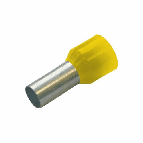 HAUPA Szigetelt érvéghüvely 1mm x 8mm 100 db