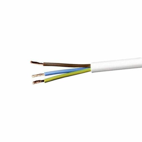 H05VV-F 3x1,5 mm (3G1,5) fehér MT kábel (sodrott) 100 m