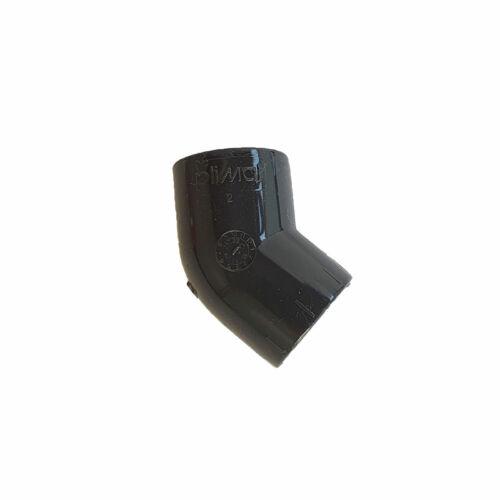 PLIMAT Kondenzvízcső könyök 20mm 45° PVC-U