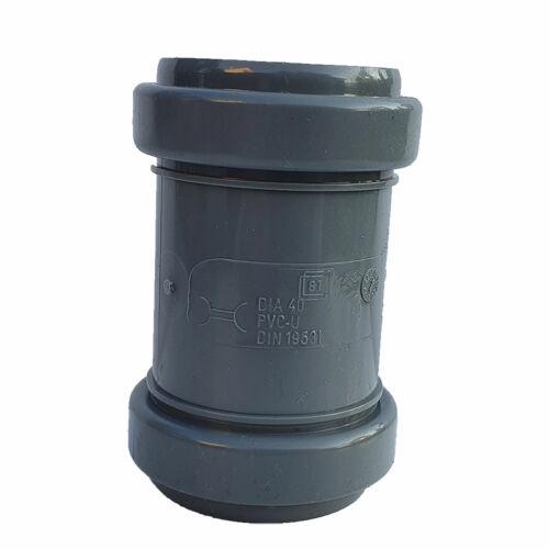 PIPELIFE PVC Tokos Karmantyú (toldó) idom 40 mm lefolyócsőhöz
