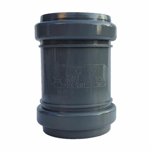 PIPELIFE PVC Tokos Karmantyú (toldó) idom 50 mm lefolyócsőhöz
