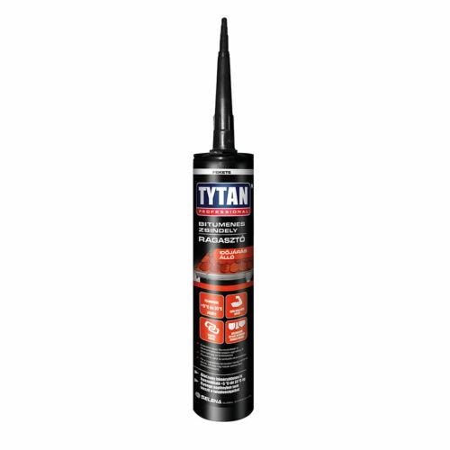Tytan bitumenes zsindelyragasztó és tömítő fekete 310 ml