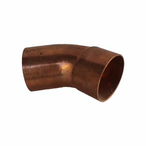 Rézcső idom ív 45° 54mm KB