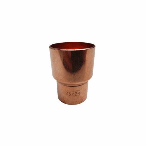 Rézcső idom szűkítő KB 35-28mm