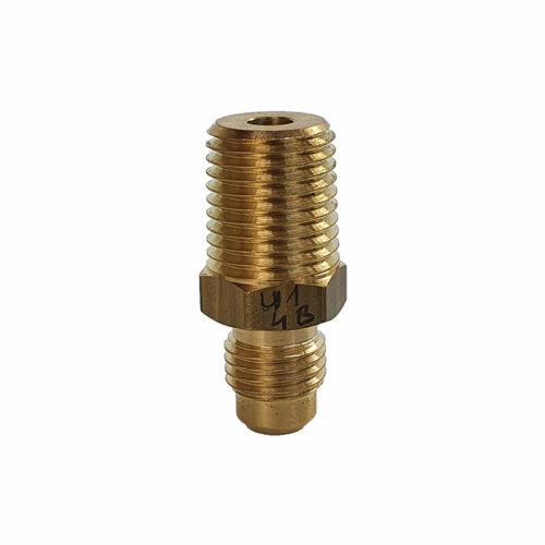 """CASTEL Egyenes Csatlakozó 6mm U1-4B KK (SAE1/4""""xNPT1/4 """")"""