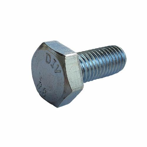 Hatlapfejű menetes csavar 10x25mm, DIN933-8.8