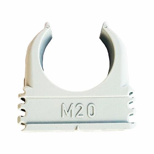 OBO Quick rögzítőbilincs, műanyag bilincs M20
