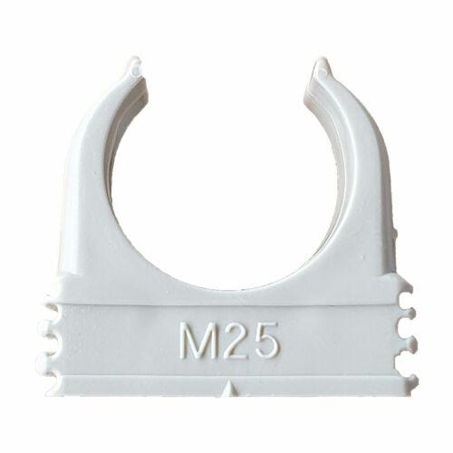 OBO Quick rögzítőbilincs, műanyag bilincs M25