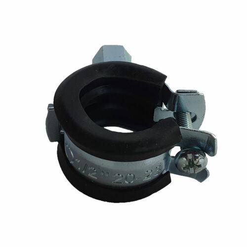 "Csőbilincs - gumis bilincs 20-23 mm M8 1/2"""