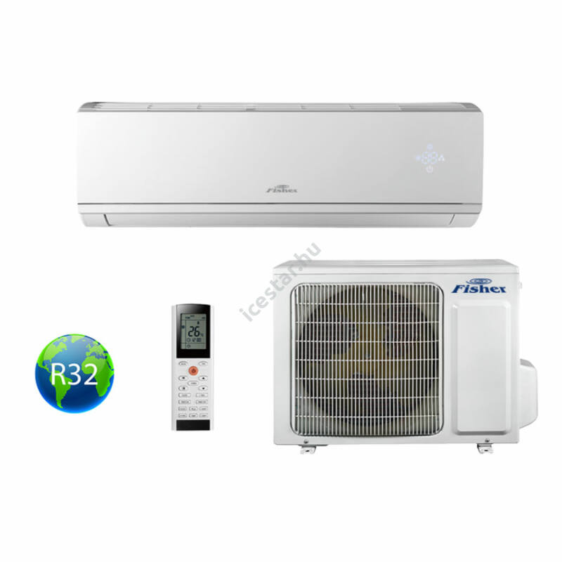 Fisher Comfort Plus FSAI-CP-120BE3/FSOAI-CP-120BE3 oldalfali split klíma 3,5kW
