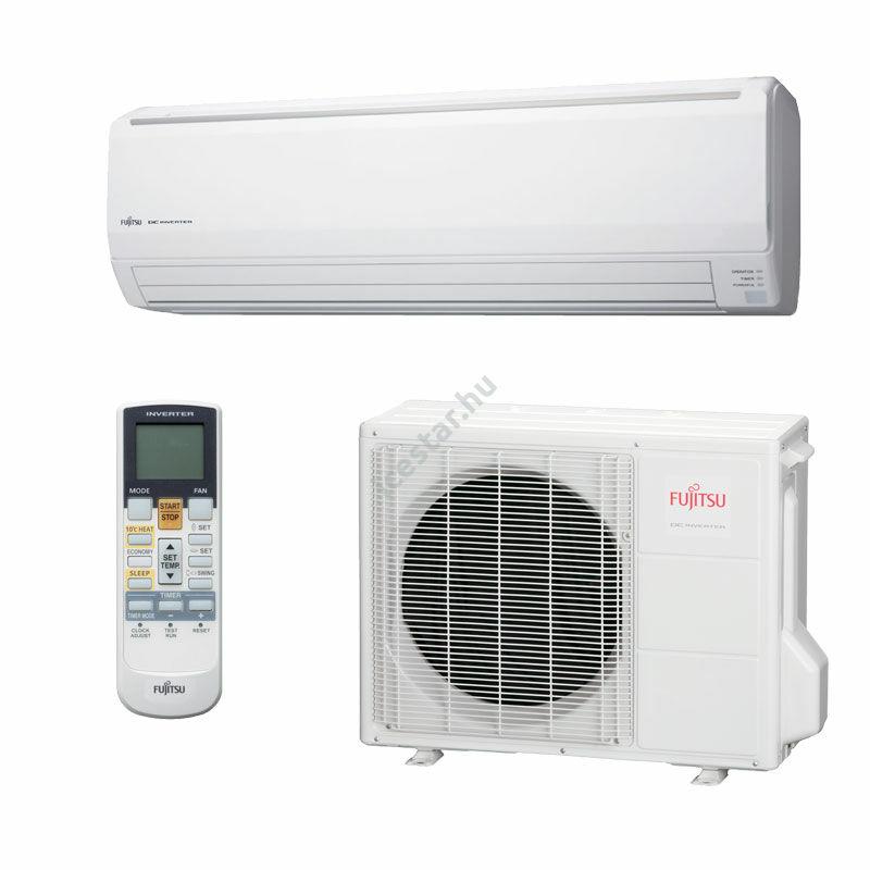 Fujitsu STANDARD oldalfali inverteres split klíma 8 kW - nagy helyiségekbe
