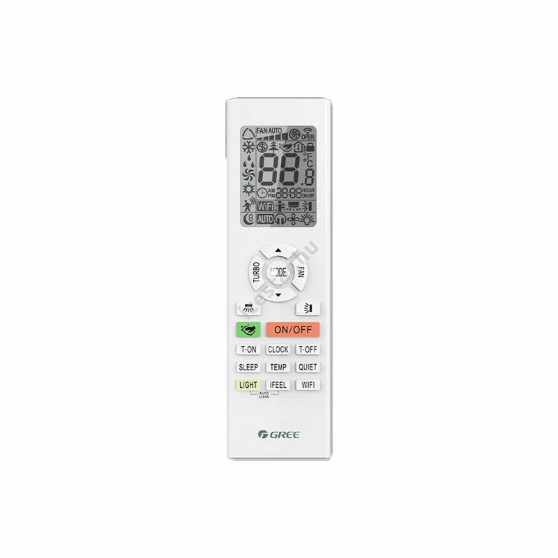 Gree G-Tech inverteres -oldalfali split 3,5 kW klíma WiFivel