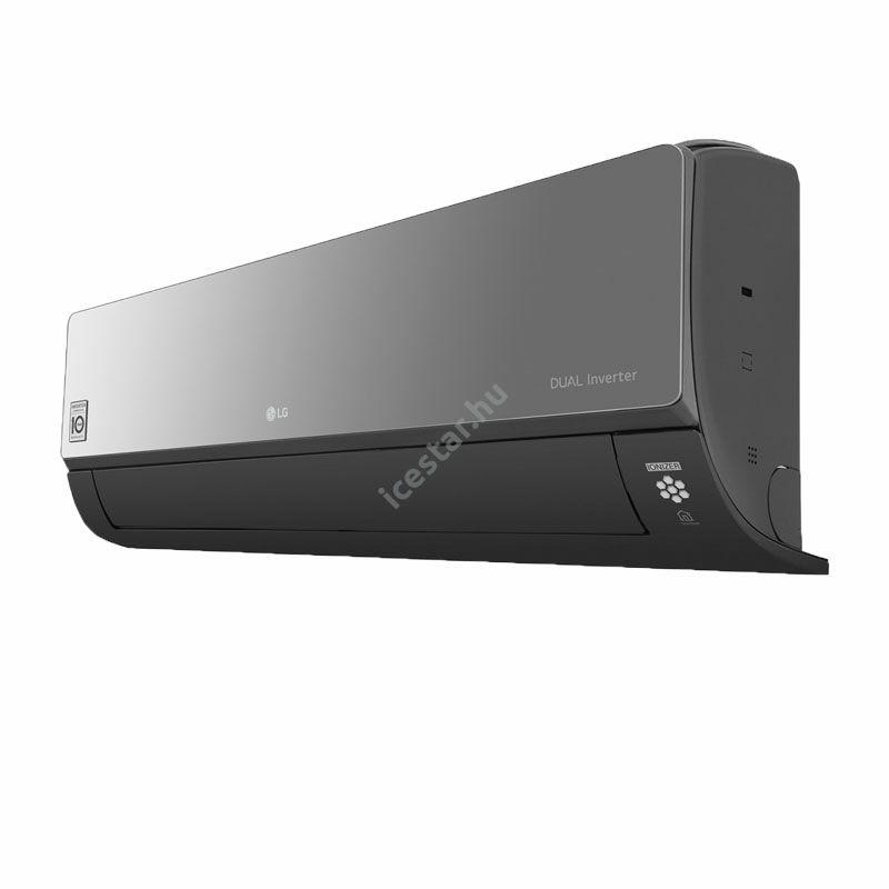 "LG ""Artcool Mirror"" oldalfali inverteres split klíma 7,1 kW - WiFi vezérléssel3"