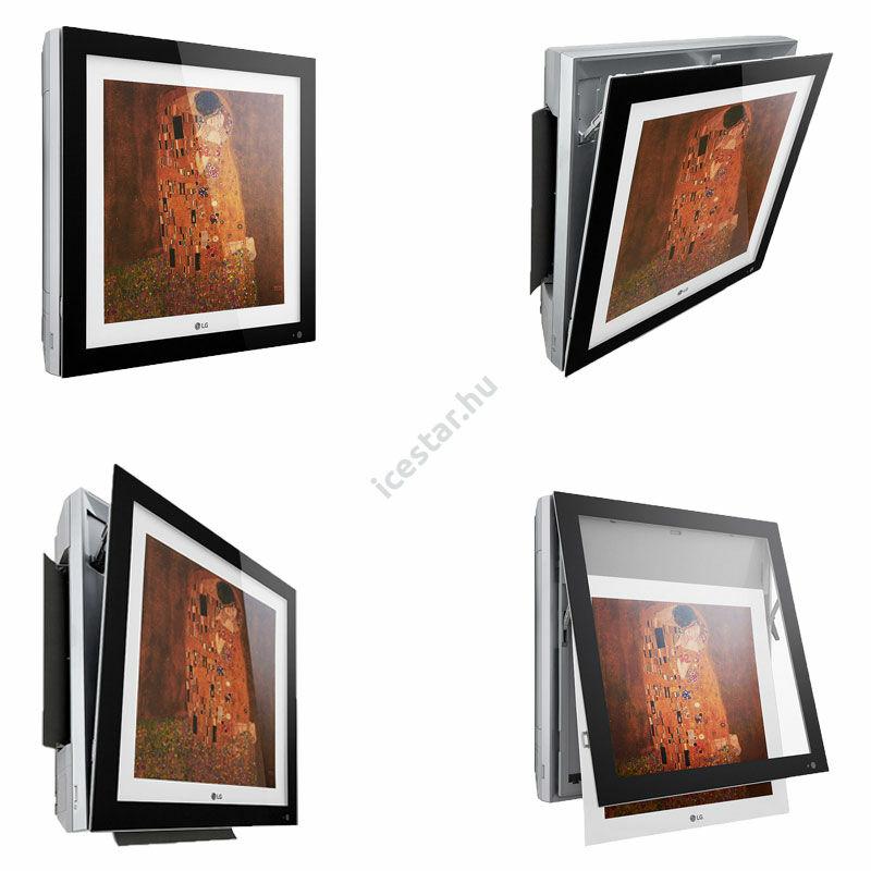 """LG """"Artcool Gallery"""" oldalfali inverteres split klíma 3,5 kW - WiFi vezérléssel, cserélhető képpel 1"""