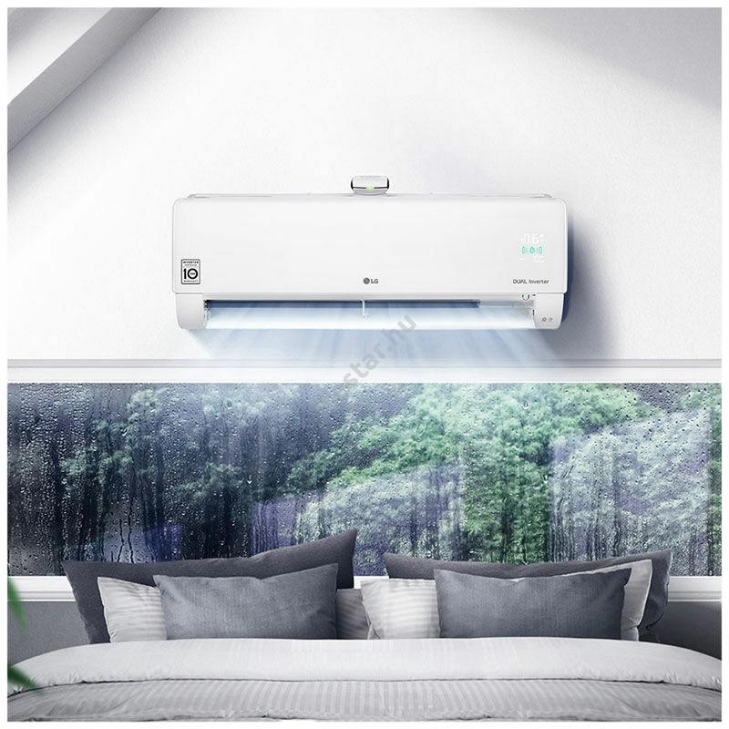 LG Dual Cool & Pure oldalfali inverteres split klíma 3,5 kW - WiFi vezérléssel2