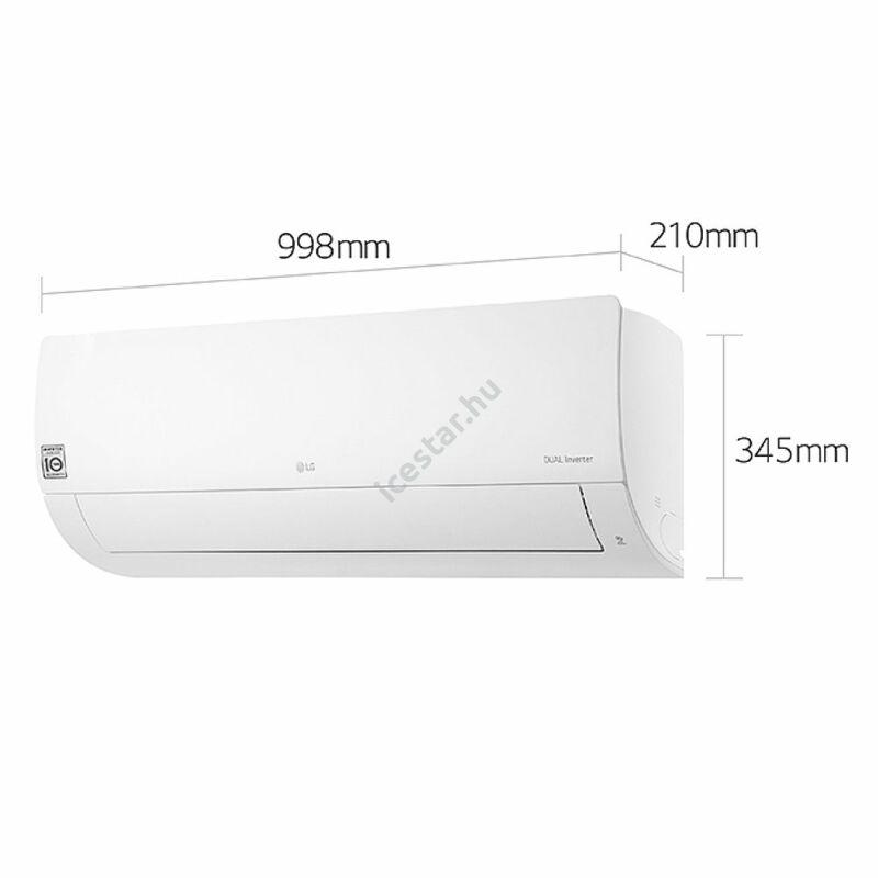 LG klíma Silence S09EQ  oldalfali monosplit 2,6 kW1