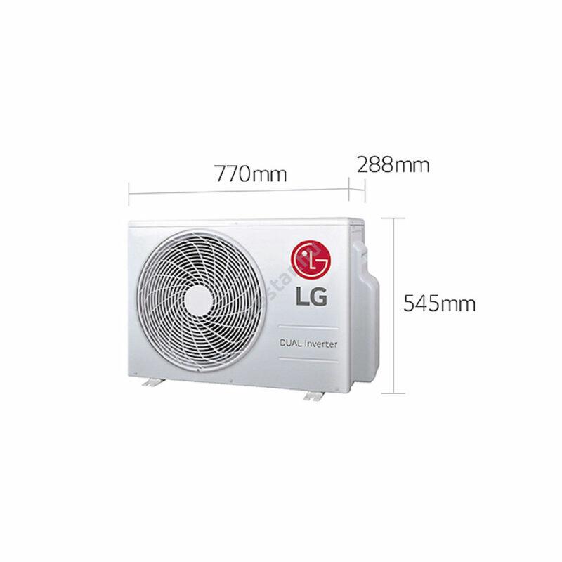 LG klíma Silence S09EQ  oldalfali monosplit 2,6 kW2