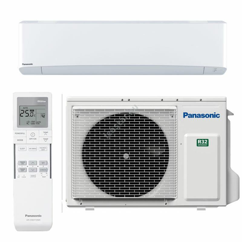 PANASONIC ETHEREA CS-Z50VKEW/CU-Z50VKE oldalfali split klíma 5,3kW WIFIvel