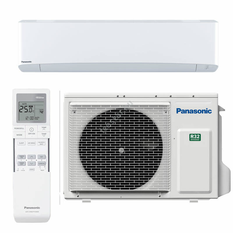 PANASONIC ETHEREA CS-Z71VKEW/CU-Z71VKE oldalfali split klíma 7,1kW WIFIvel