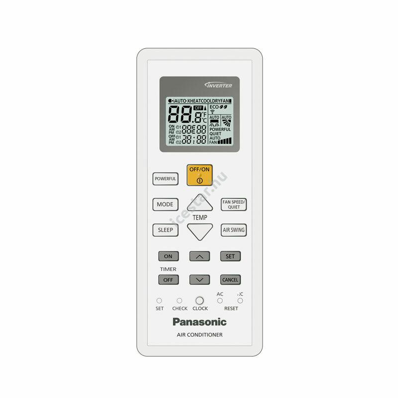 PANASONIC FZ CS-FZ50WKE/CU-FZ50WKE oldalfali split klíma 5kW2