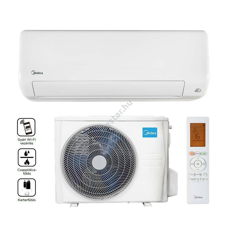 Midea All Easy Pro MEX-12-SP oldalfali split klíma 3,5 kW - (R32)
