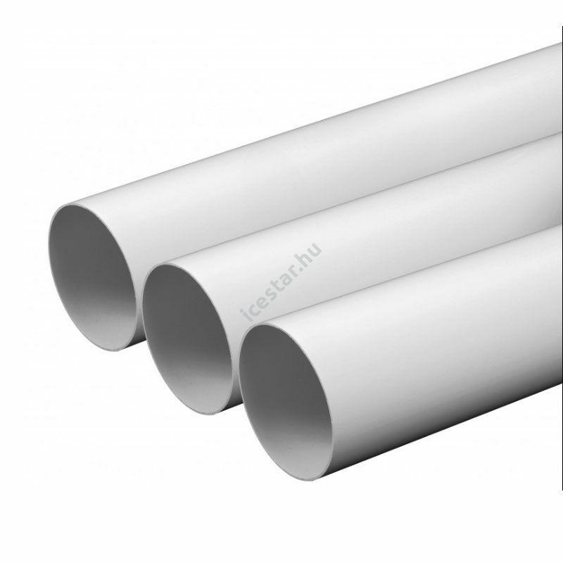 Awenta KO125-10 PVC merev cső, merev körcsatorna NA:125 mm L:1 m
