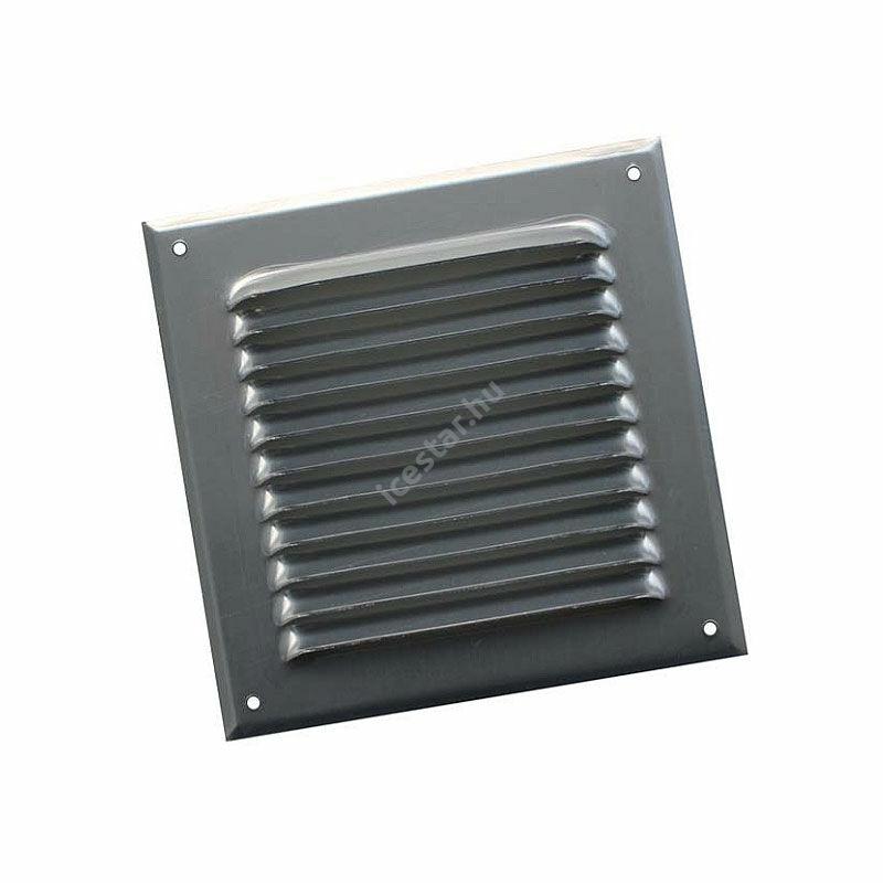 ATC BLR-0 240x240 Alumínium fix négyszögletes kültéri esővédő rács