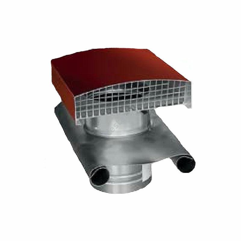 ATC-CT 125R acél tetősapka piros színben