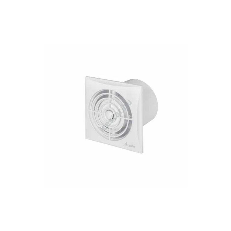 Awenta Silence axiális, időzítős fürdőszoba ventilátor WZ125T - fehér