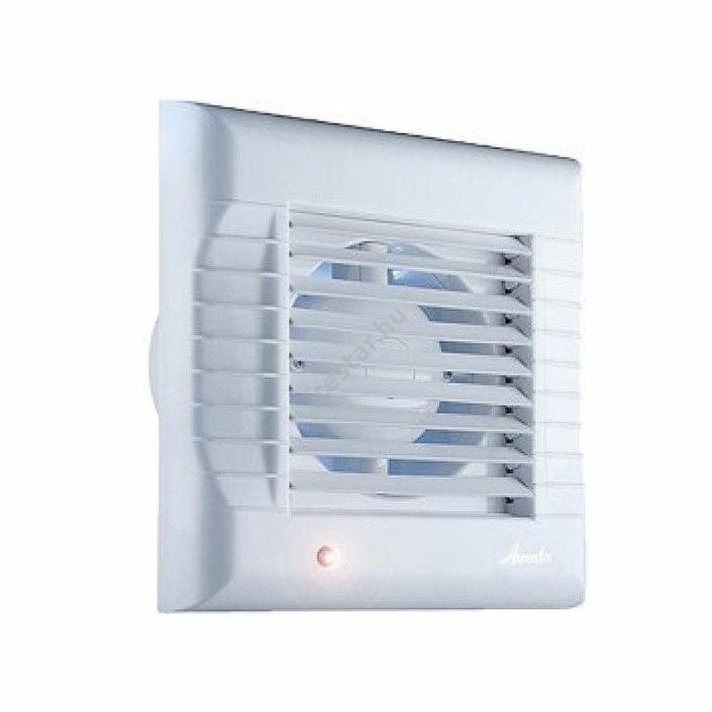 Awenta A-Matic WM100T  fürdőszoba ventilátor, elektromos zsaluzattal, időkapcsolóval