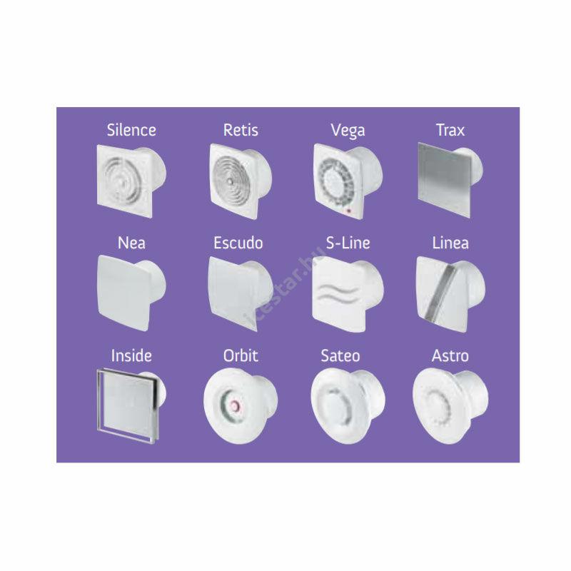 ZZ100 visszacsaposzelep Awenta ventilátor típusokhoz